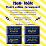 Net-Kék Nyári online versenyek felhívás
