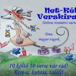 Jelentkezz a Net-Kék Verskirakó Online irodalmi versenyre!
